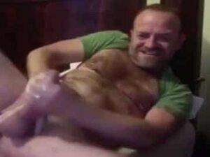 Verbal Daddy Masturbates His Big Penis